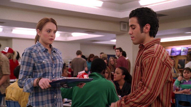 Silk Milk (Lindsay Lohan) in Mean Girls (2004) Movie Product Placement