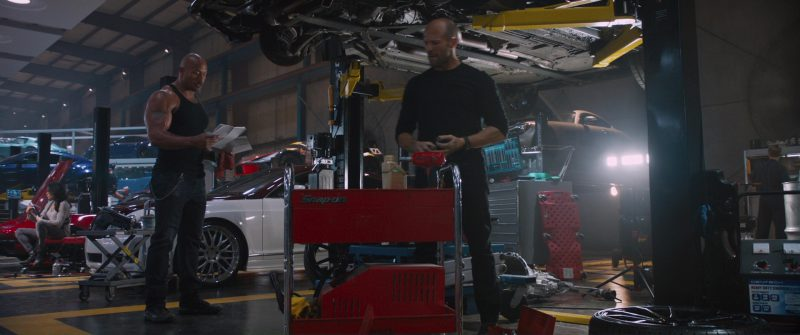 Snap-on in The Fate of the Furious (2017) Movie Product Placement