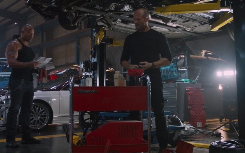Snap-on in The Fate of the Furious