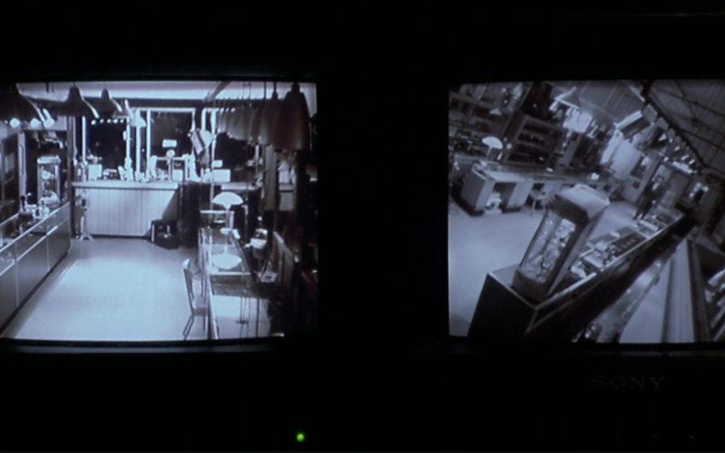Sony Monitor in The Italian Job