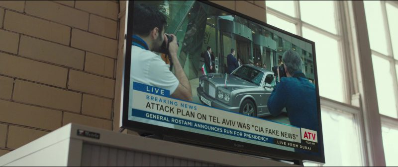 Sony TV in American Assassin (2017) Movie Product Placement