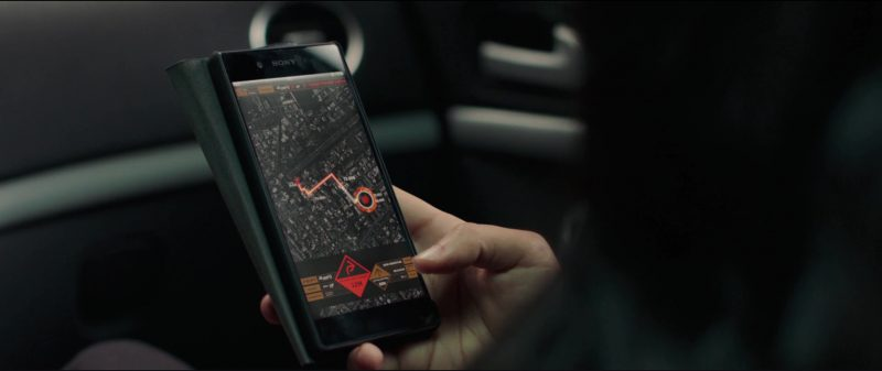 Sony Xperia Android Smartphone Used by Shiva Negar in American Assassin (2017) Movie Product Placement