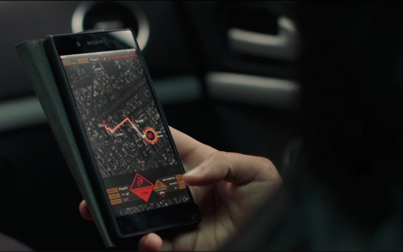 Sony Xperia Android Smartphone Used by Shiva Negar in American Assassin (1)