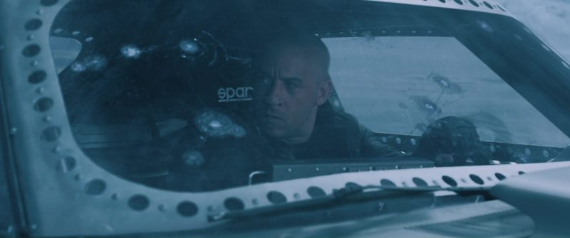 Sparco Seats Used by Vin Diesel in The Fate of the Furious (2017) - Movie Product Placement