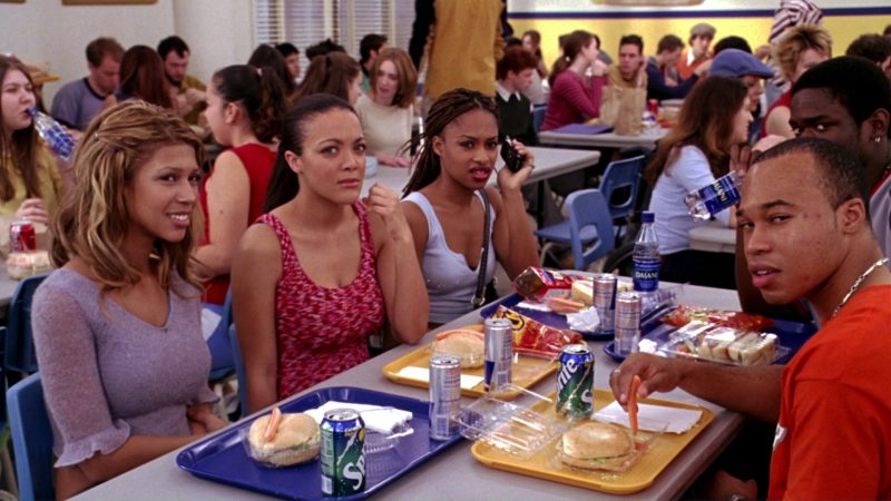 Sprite, Red Bull, Cheetos, Doritos, Dasani in Mean Girls (2004) - Movie Product Placement