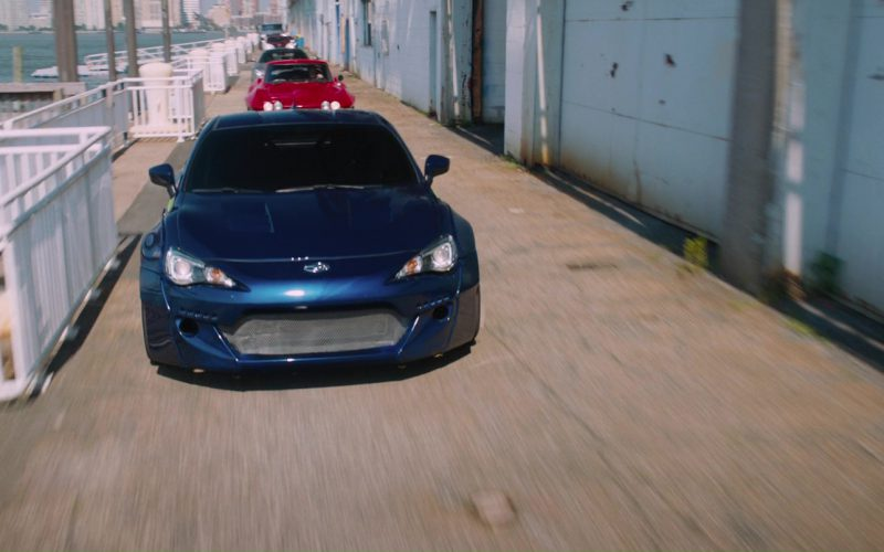Subaru BRZ Car in The Fate of the Furious (1)