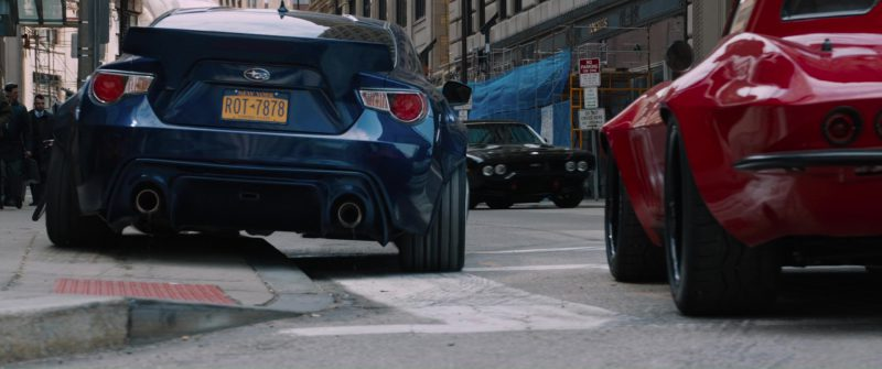 Subaru BRZ Car in The Fate of the Furious (2017) - Movie Product Placement