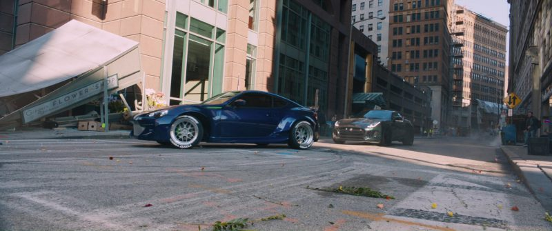 Subaru BRZ Car in The Fate of the Furious (2017) Movie Product Placement