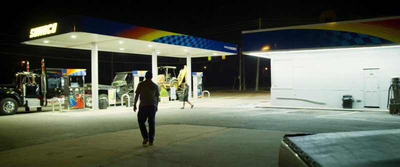 Sunoco Gas Station in Logan Lucky (2017) Movie Product Placement