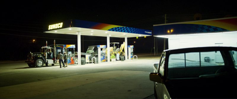 Sunoco Gas Station in Logan Lucky (2017) Movie