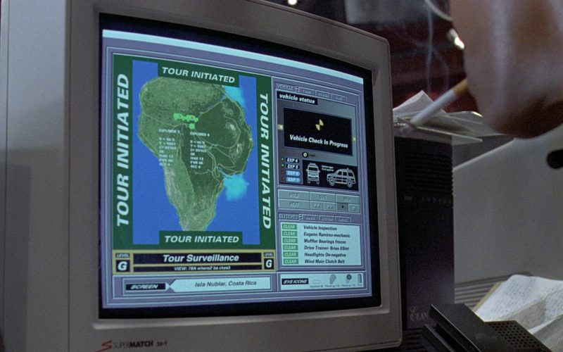 SuperMatch 20-T Monitor in Jurassic Park (1)