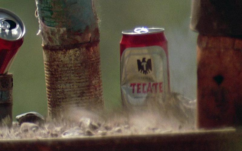 Tecate Beer Cans in The Getaway (1)