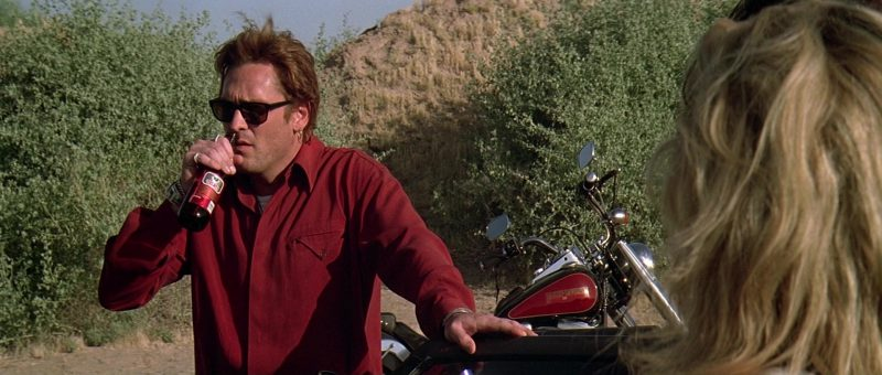 Tecate Beer and Michael Madsen in The Getaway (1994) - Movie Product Placement
