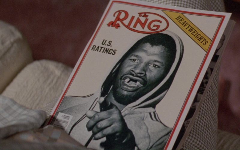 The Ring Magazine in Blind Date (1987)