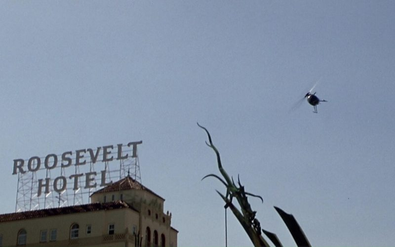 The Roosevelt Hotel in The Italian Job (2003)