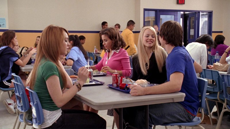 Tommy Hilfiger Shoes, Diet Coke, Coca-Cola, Doritos in Mean Girls (2004) - Movie Product Placement