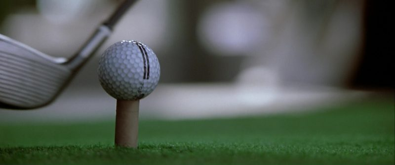 Top Flite Golf Balls in The Italian Job (2003) - Movie Product Placement