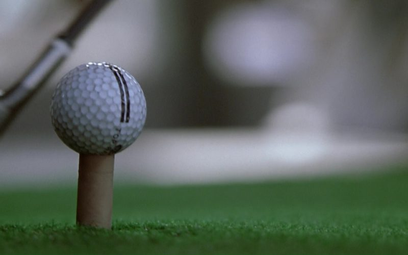Top Flite Golf Balls in The Italian Job
