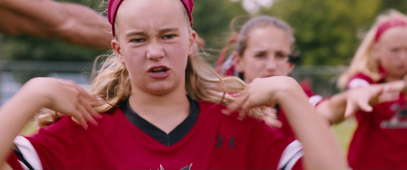 Under Armour Girls' Red Sportswear in The Fate of the Furious (2017) - Movie Product Placement