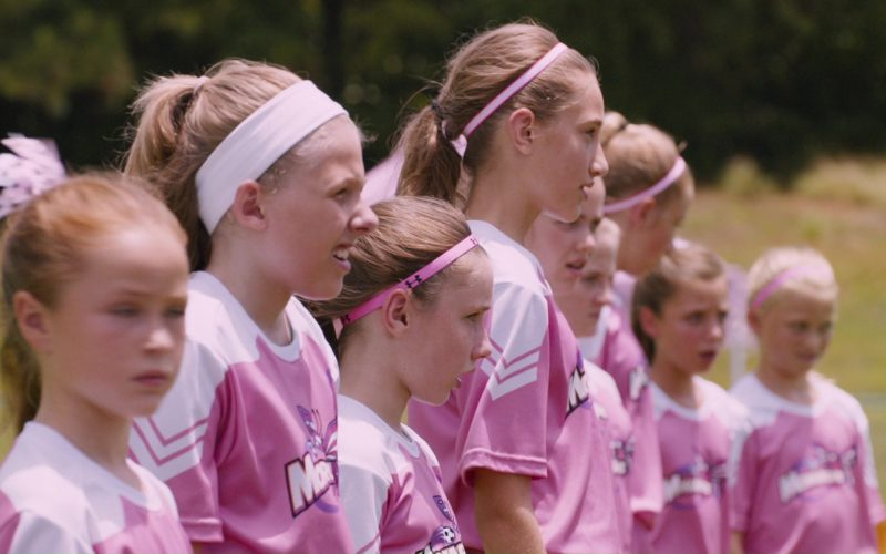 Under Armour Girls' Soccer Pink Sportswear in The Fate of the Furious (1)