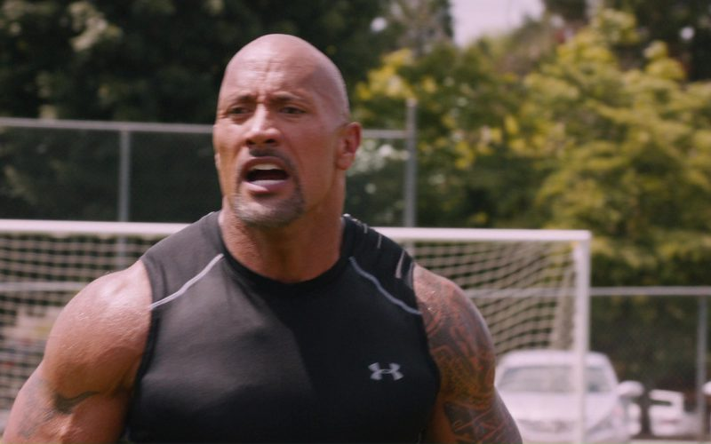 Under Armour Sleeveless T-Shirt Worn by Dwayne Johnson (The Rock) in The Fate of the Furious (1)
