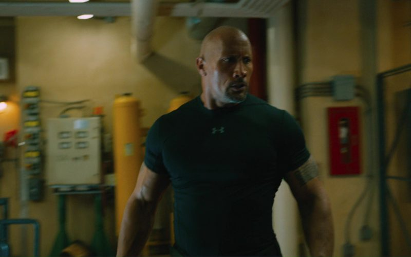 Under Armour T-Shirt Worn by Dwayne Johnson (The Rock) in The Fate of the Furious (1)