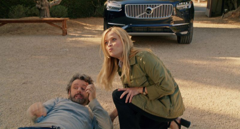 Volvo XC90 Car Driven by Reese Witherspoon in Home Again (2017) Movie Product Placement
