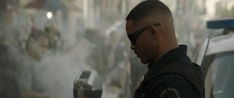 Wiley X Men's Omega Grey Matte Sunglasses Worn by Will Smith in Bright (2017) - Movie Product Placement