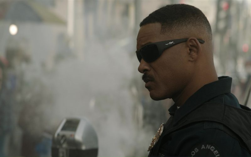 Wiley X Men's Omega Grey Matte Sunglasses Worn by Will Smith in Bright (4)