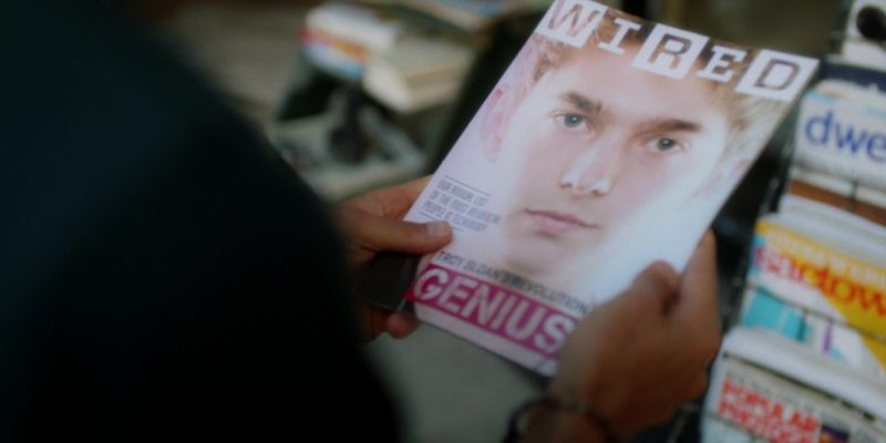 Wired Magazine in Brad's Status (2017) Movie Product Placement
