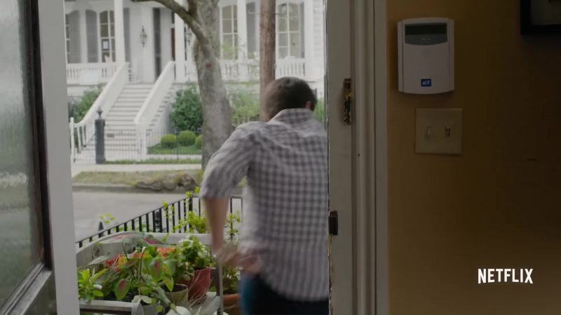 ADT Home Security Alarm in When We First Met (2018) - Movie Product Placement