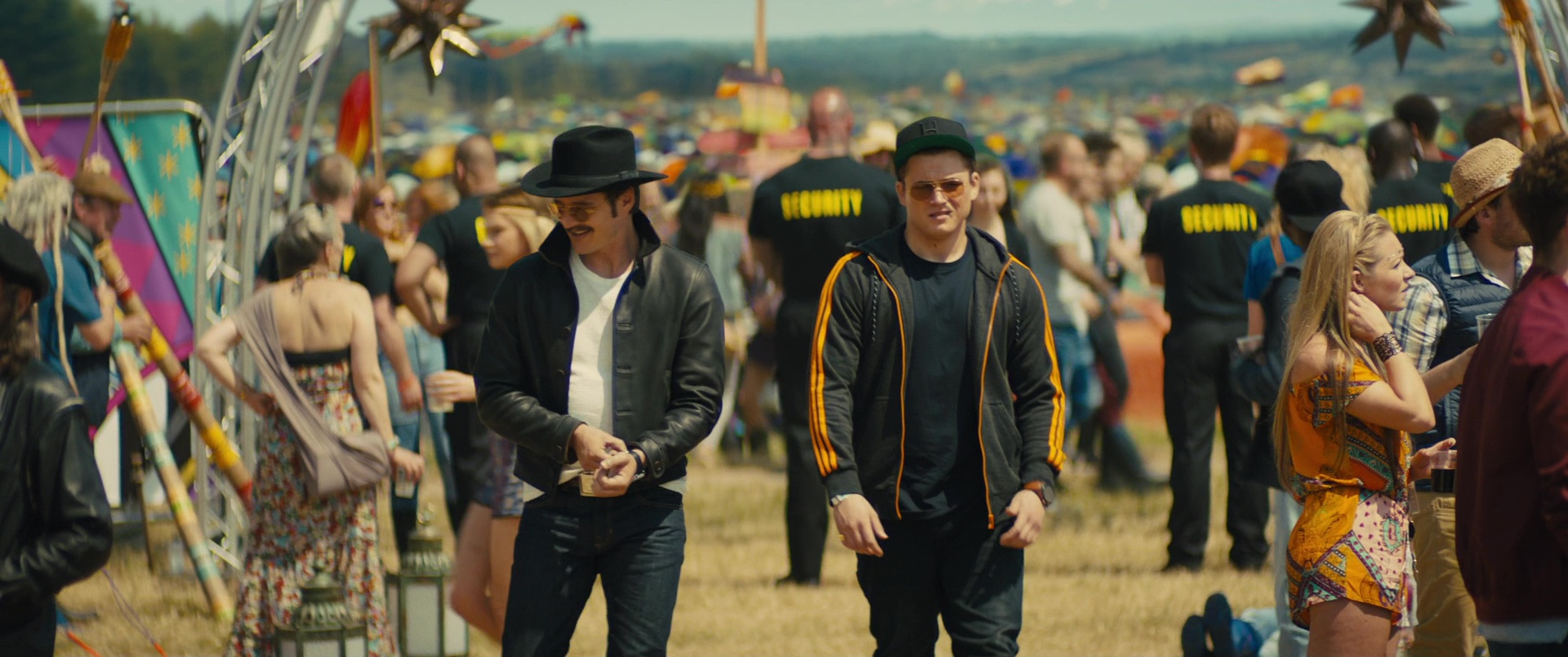 official site cute cheap on feet shots of Adidas Hoodie Worn by Taron Egerton in Kingsman 2: The ...