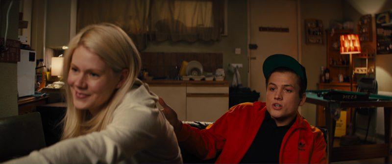 Adidas Orange Jacket Worn by Taron Egerton in Kingsman 2: The Golden Circle (2017) Movie