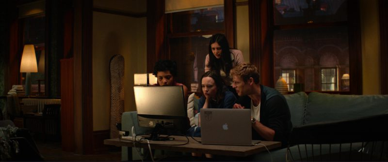 Apple MacBook Pro Laptop Used by James Norton in Flatliners (2017) Movie Product Placement
