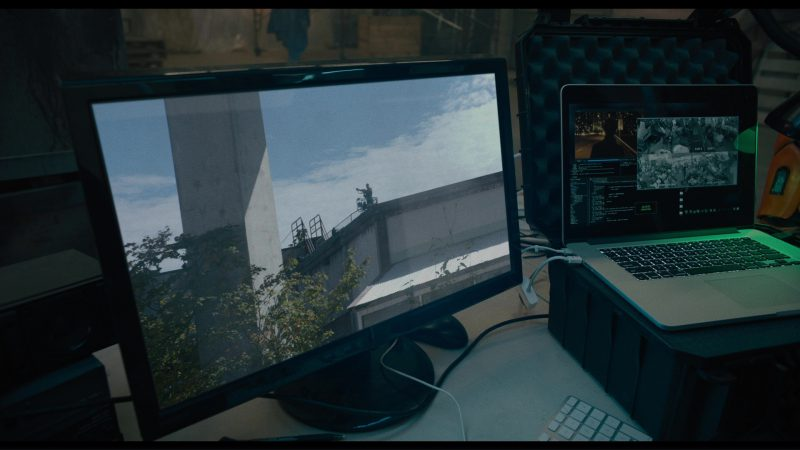 Apple MacBook Pro Laptop Used by Paul Brittain in Killing Gunther (2017) Movie Product Placement