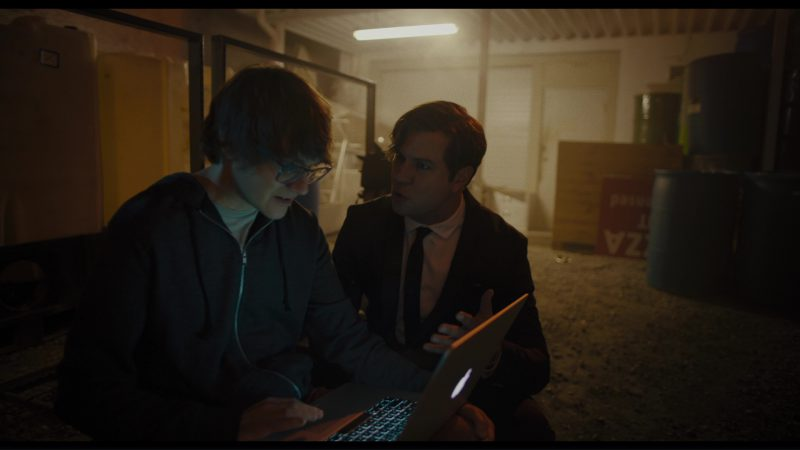 Apple MacBook Pro Laptop Used by Paul Brittain in Killing Gunther (2017) - Movie Product Placement