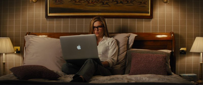 Apple MacBook Pro Notebook Used by Sophie Cookson in Kingsman 2: The Golden Circle (2017) - Movie Product Placement
