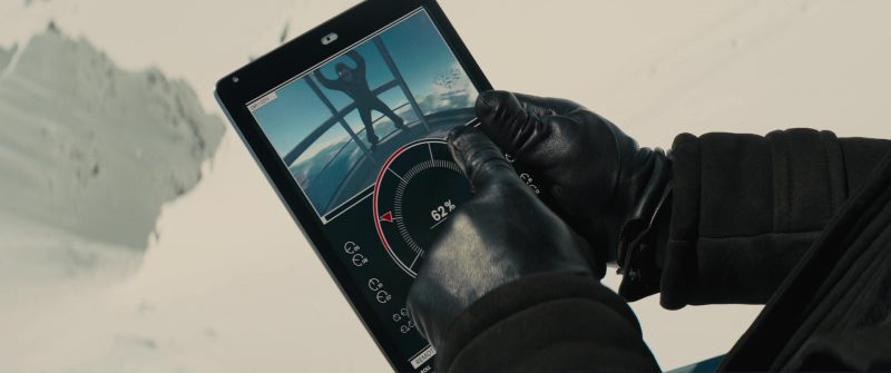 Apple iPad Tablet Used by Edward Holcroft in Kingsman 2: The Golden Circle (2017) - Movie Product Placement