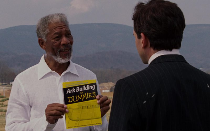 Ark Building for Dummies Book in Evan Almighty (1)