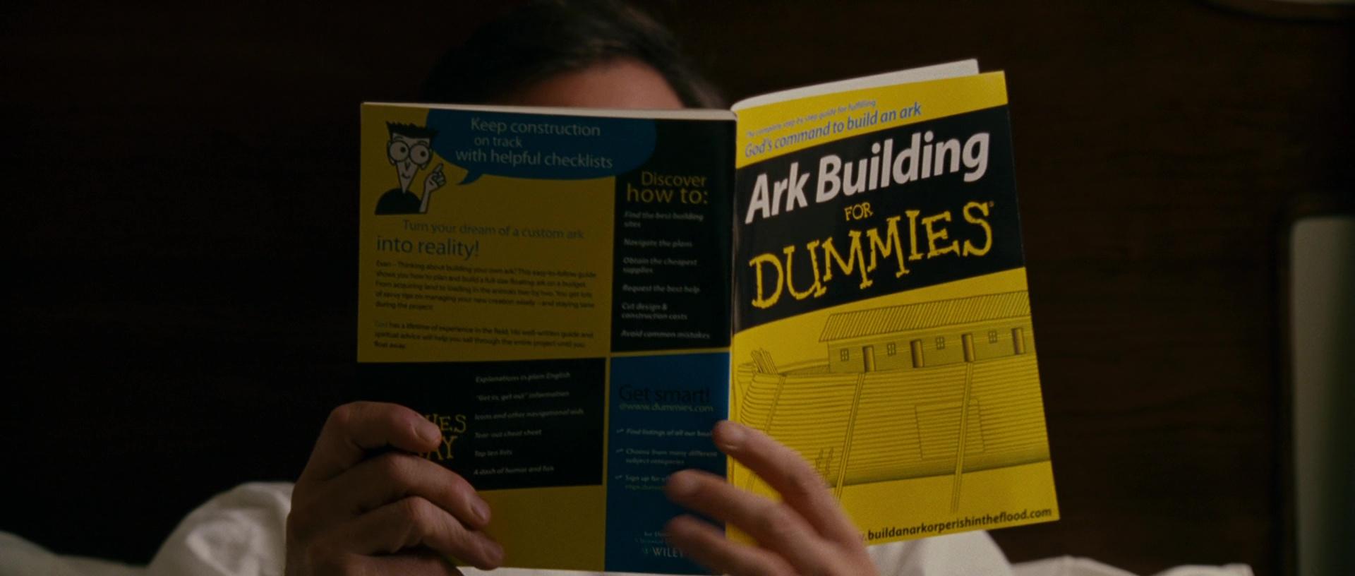 ark building for dummies book in evan almighty 2007 movie. Black Bedroom Furniture Sets. Home Design Ideas