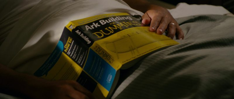Ark Building for Dummies Book in Evan Almighty (2007) Movie Product Placement