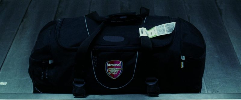 Arsenal Football Club Bag in Ocean's Twelve (2004) Movie Product Placement