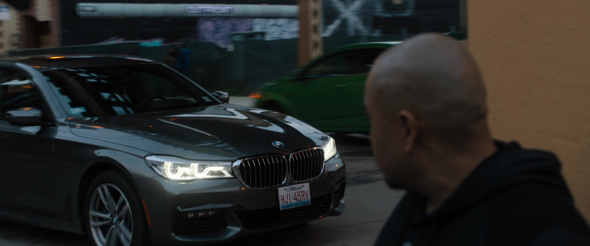 bmw 7 series car used by bruce willis in death wish 2018