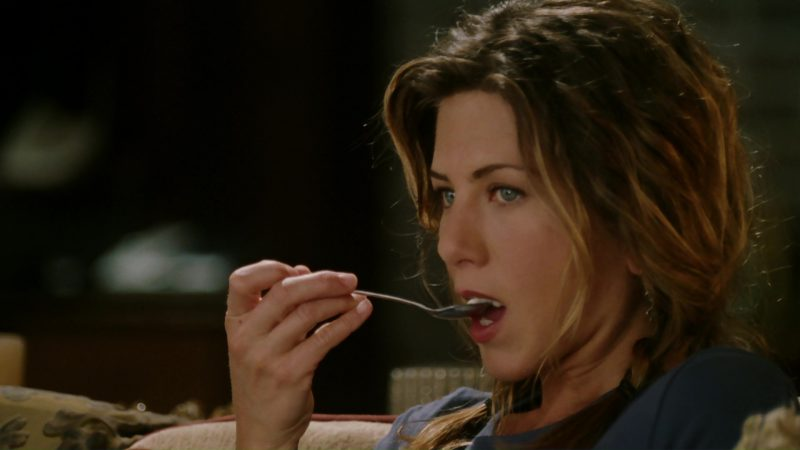 Ben & Jerry's Ice Cream and Jennifer Aniston in Bruce Almighty (2003) - Movie Product Placement