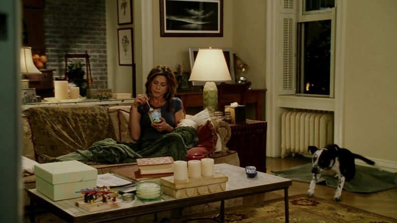 Ben & Jerry's Ice Cream and Jennifer Aniston in Bruce Almighty (2003) Movie Product Placement
