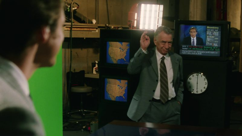 Bloomberg Television Channel in Bruce Almighty (2003) Movie Product Placement