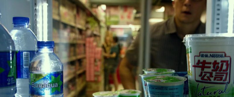 Bonaqua Mineral Water and Nestle in Geostorm (2017) Movie Product Placement