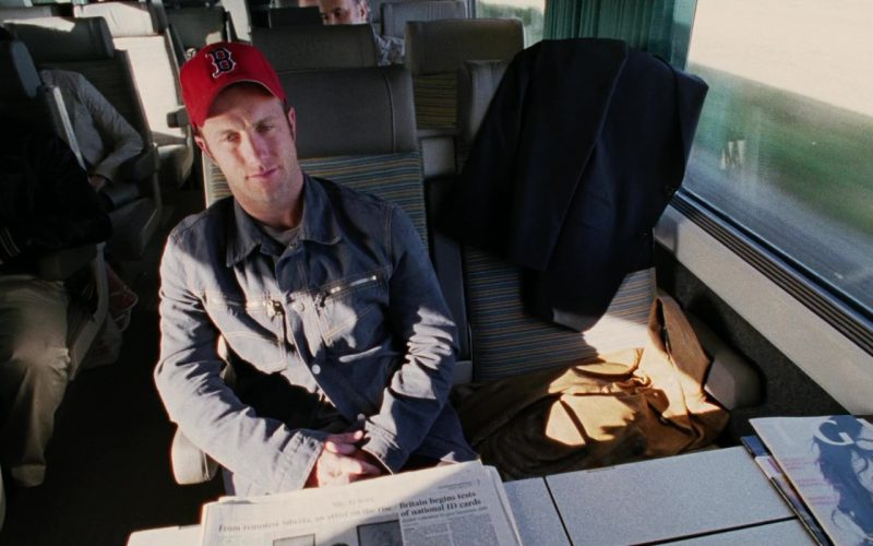 Boston Red Sox Baseball Team Cap Worn by Scott Caan in Ocean's Twelve