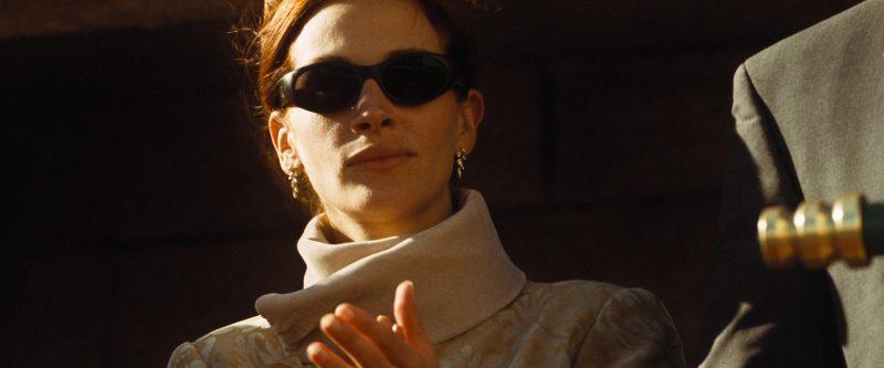 CK Calvin Klein CK1000 52 135 Vintage Unisex Sports Sunglasses Worn by Julia Roberts in Ocean's Eleven (2001) Movie Product Placement
