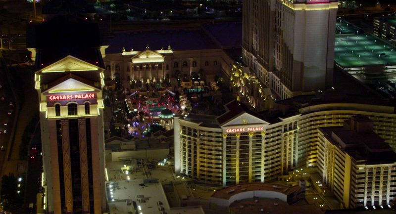 Caesars Palace Luxury Hotel and Casino in Show Dogs (2018) Movie Product Placement